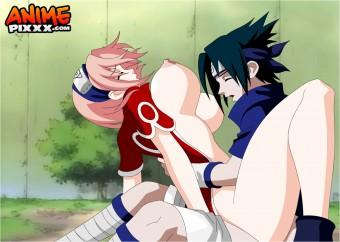 Sasuke x Sakura - Naruto! (requested by Bikochu)
