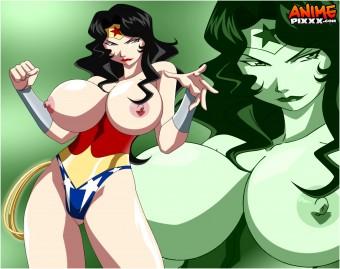 wonder woman big tits