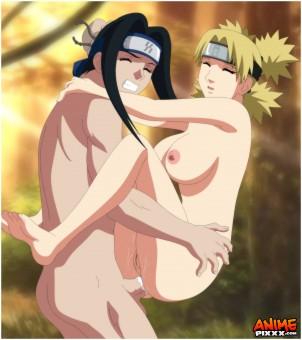 hakku x temari Naruto Shippuden