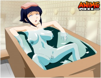 Hinata in the bathtub! (requested by Maroon7)
