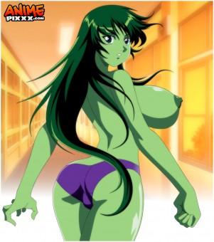 She-hulk hot little green