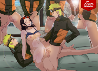 Naruto And Robin Gangbang