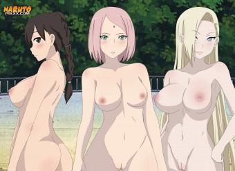 Tenten x Sakura x Ino