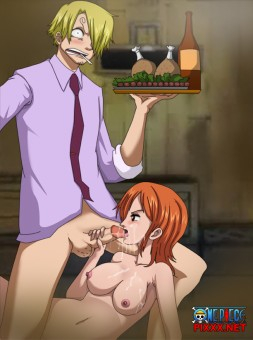 """Welcome back Nami-swan"""