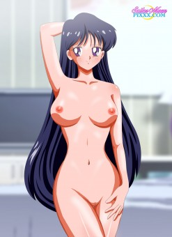 Long Hair Tease - Sailor Mars