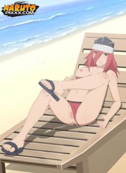 Tayuya Beach Sperm Shower